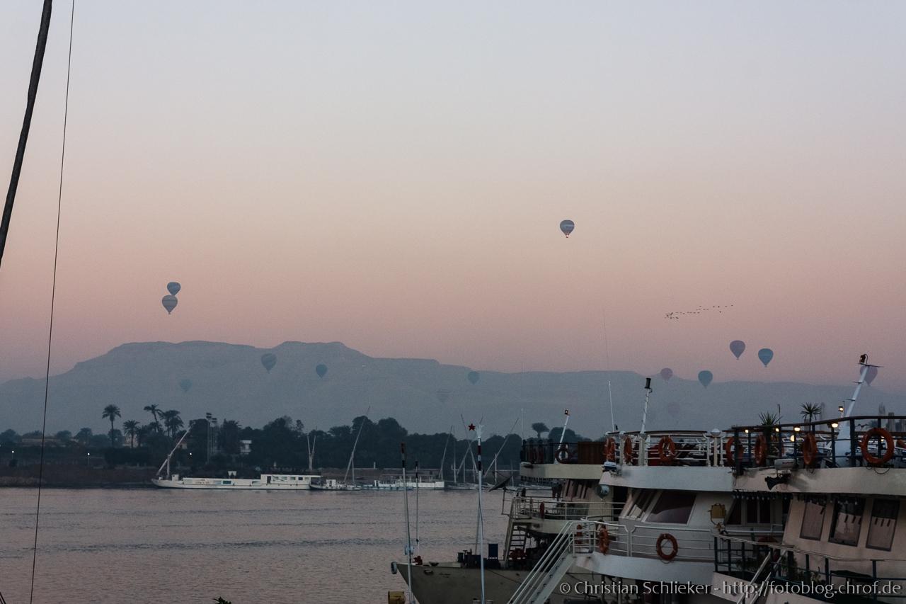 Heißluftballons Luxor