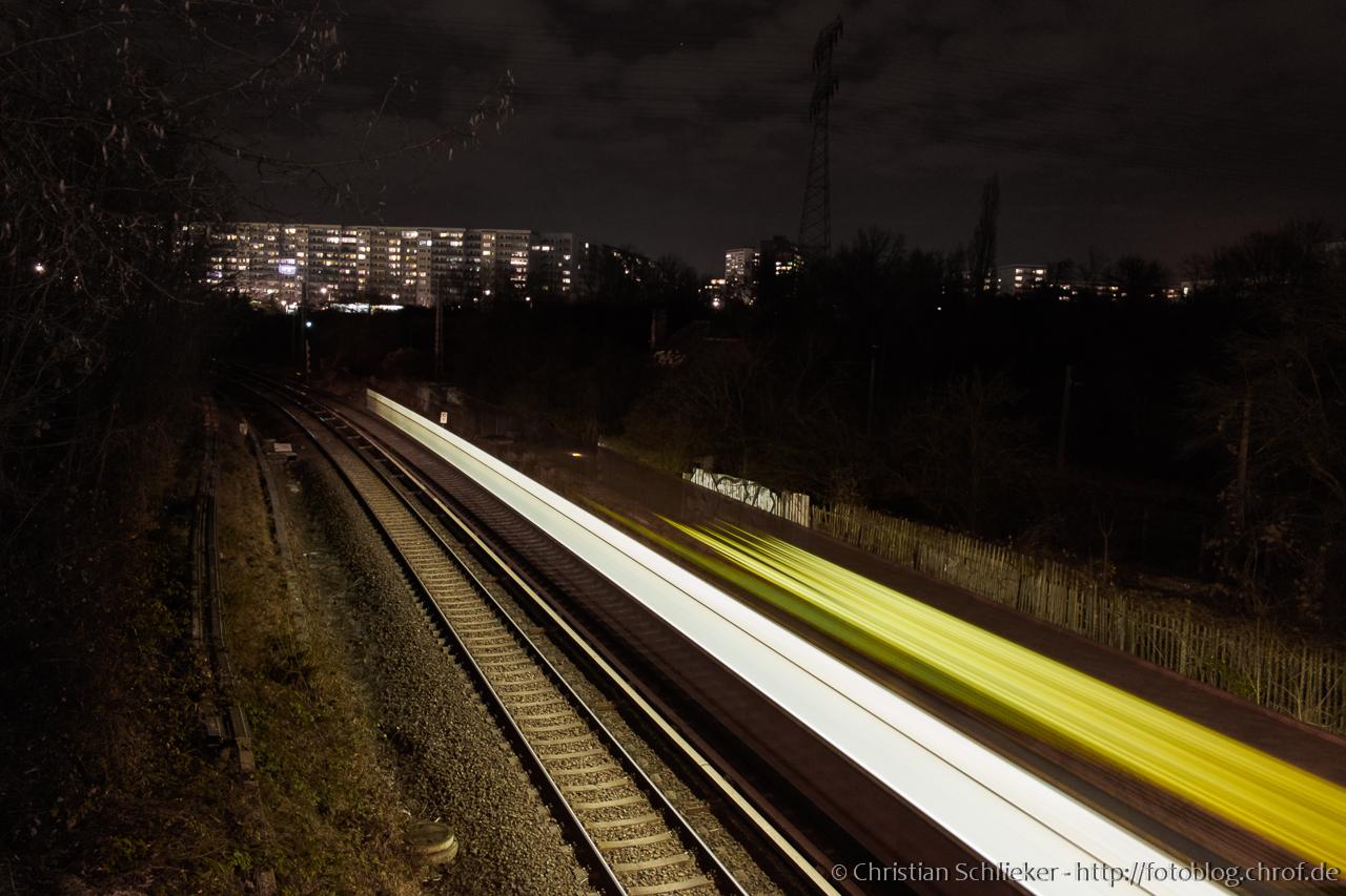 Zeitraffer S-Bahn Berlin