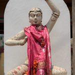 Statue mit Tuch