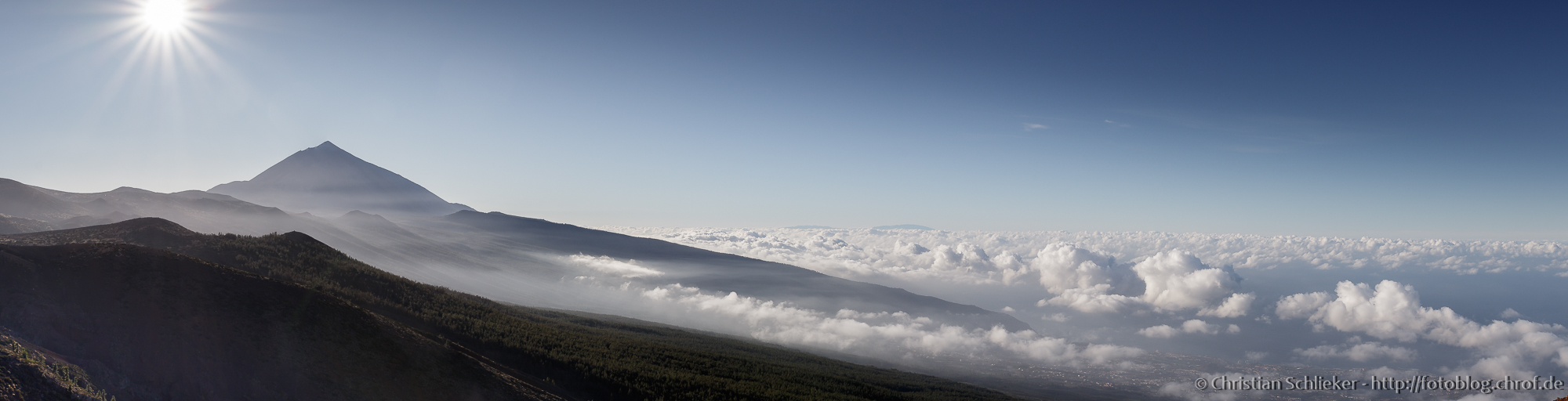 Panorama Vulkan Teide