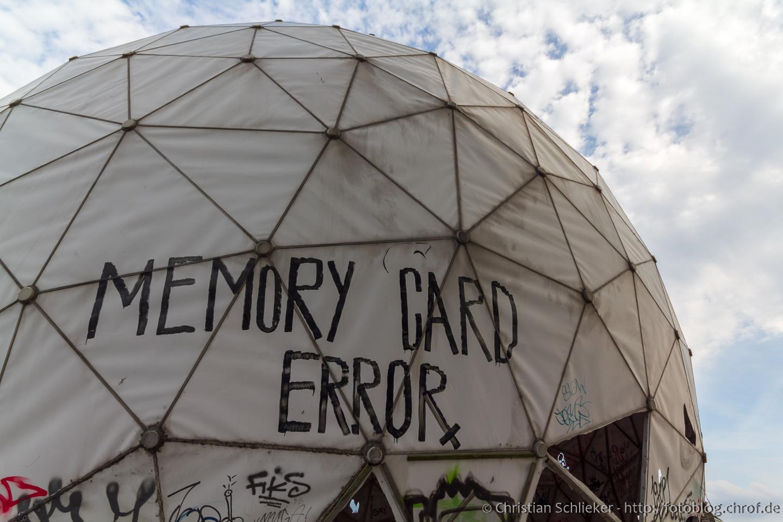 Berlin Teufelsberg Radarkuppel