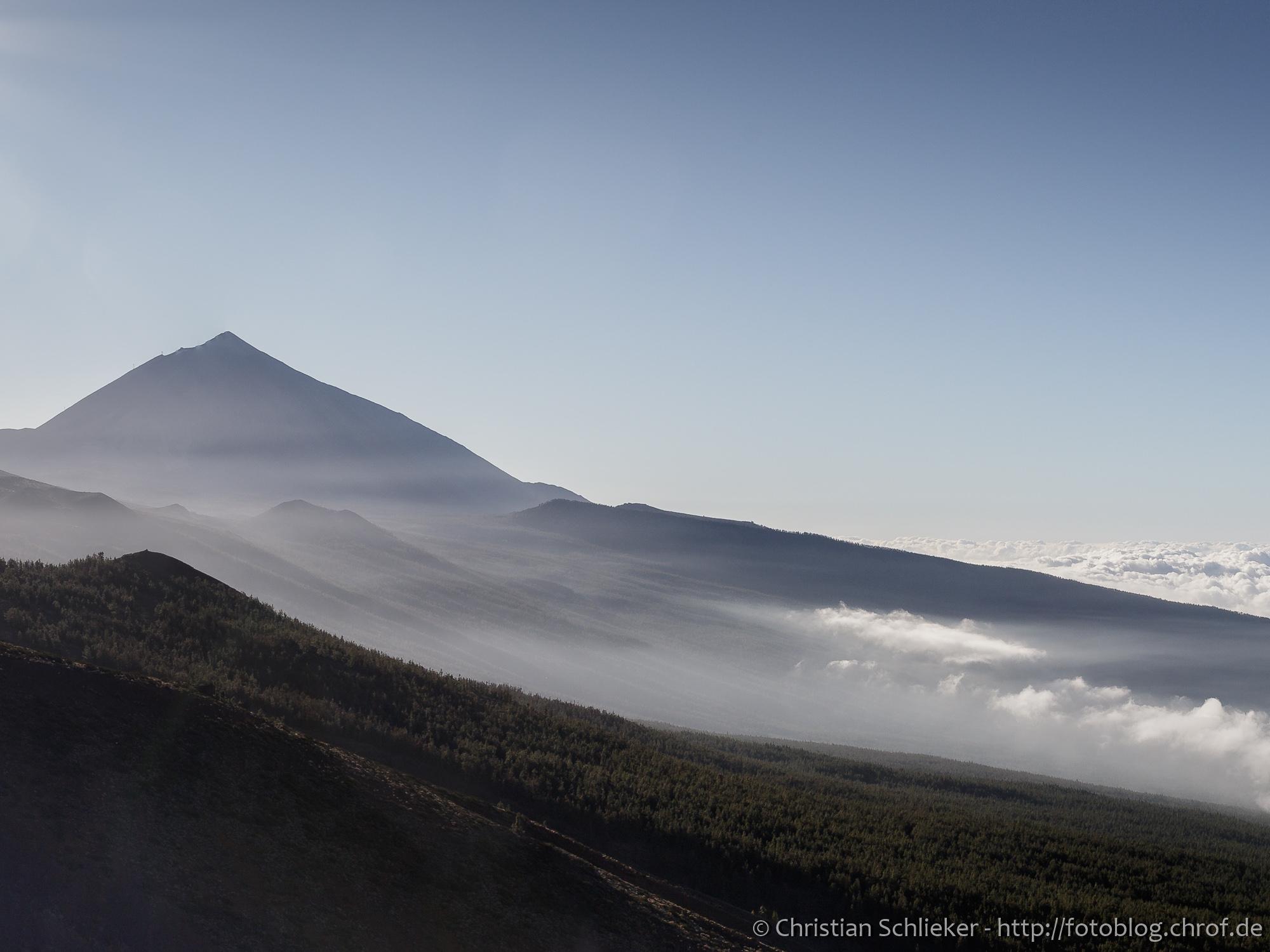 Teide Ansicht von Norden Teneriffa